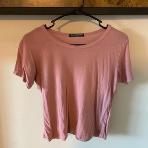Brandy Melville Cropped Tee - OS
